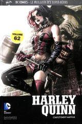 Couverture Harley Quinn: Complètement marteau - DC Comics - Le meilleur des Super Héros tome 62