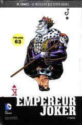 Couverture Superman: Empereur Joker (1er partie) - DC Comics - Le meilleur des Super Héros tome 63