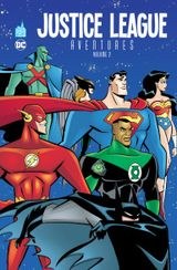 Couverture justice league aventures volume 2