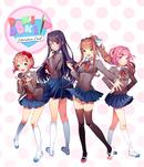Jaquette Doki Doki Literature Club!
