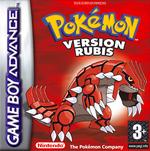 Jaquette Pokémon Rubis