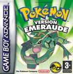 Jaquette Pokémon Émeraude