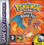 Jaquette Pokémon Rouge Feu