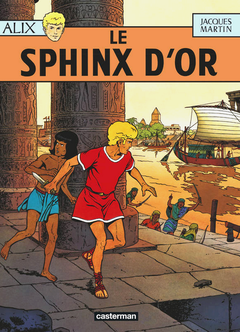 Couverture Le Sphinx d'or - Alix, tome 2