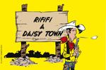 Jaquette Lucky Luke : Rififi à Daisy Town