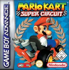 Jaquette Mario Kart Super Circuit
