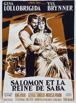 Affiche Salomon et la Reine de Saba