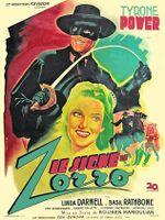 Affiche Le Signe de Zorro