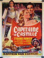 Affiche Capitaine de Castille