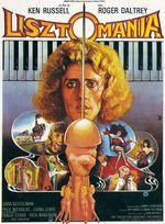 Affiche Lisztomania