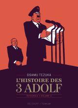 Couverture L'Histoire des 3 Adolf (Édition 90 ans), tome 2