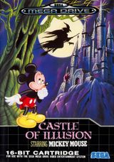 Jaquette Castle of Illusion starring Mickey Mouse