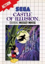 Jaquette Castle of Illusion starring Mickey Mouse (8 bits)