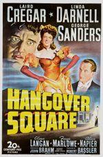 Affiche Hangover Square