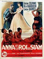 Affiche Anna et le Roi de Siam