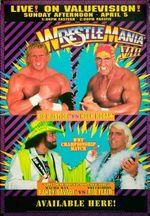 Affiche WrestleMania VIII