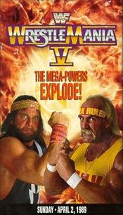 Affiche WrestleMania V