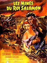 Affiche Les Mines du roi Salomon