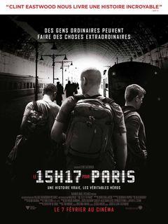 Affiche Le 15h17 pour Paris