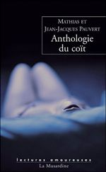 Couverture Anthologie du coït