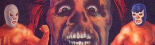 Cover Lucha Libre : c'est Santo, Blue Demon et Mil Mascaras qui montent sur un ring...