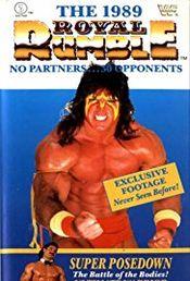 Affiche Royal Rumble (1989)
