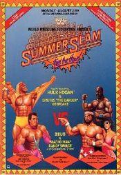 Affiche SummerSlam (1989)