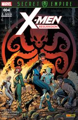 Couverture Secret Empire - X-Men ResurrXion, tome 4