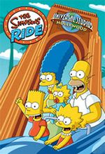 Affiche The Simpsons Ride