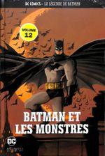 Couverture Batman et les monstres - La Légende de Batman, tome 12