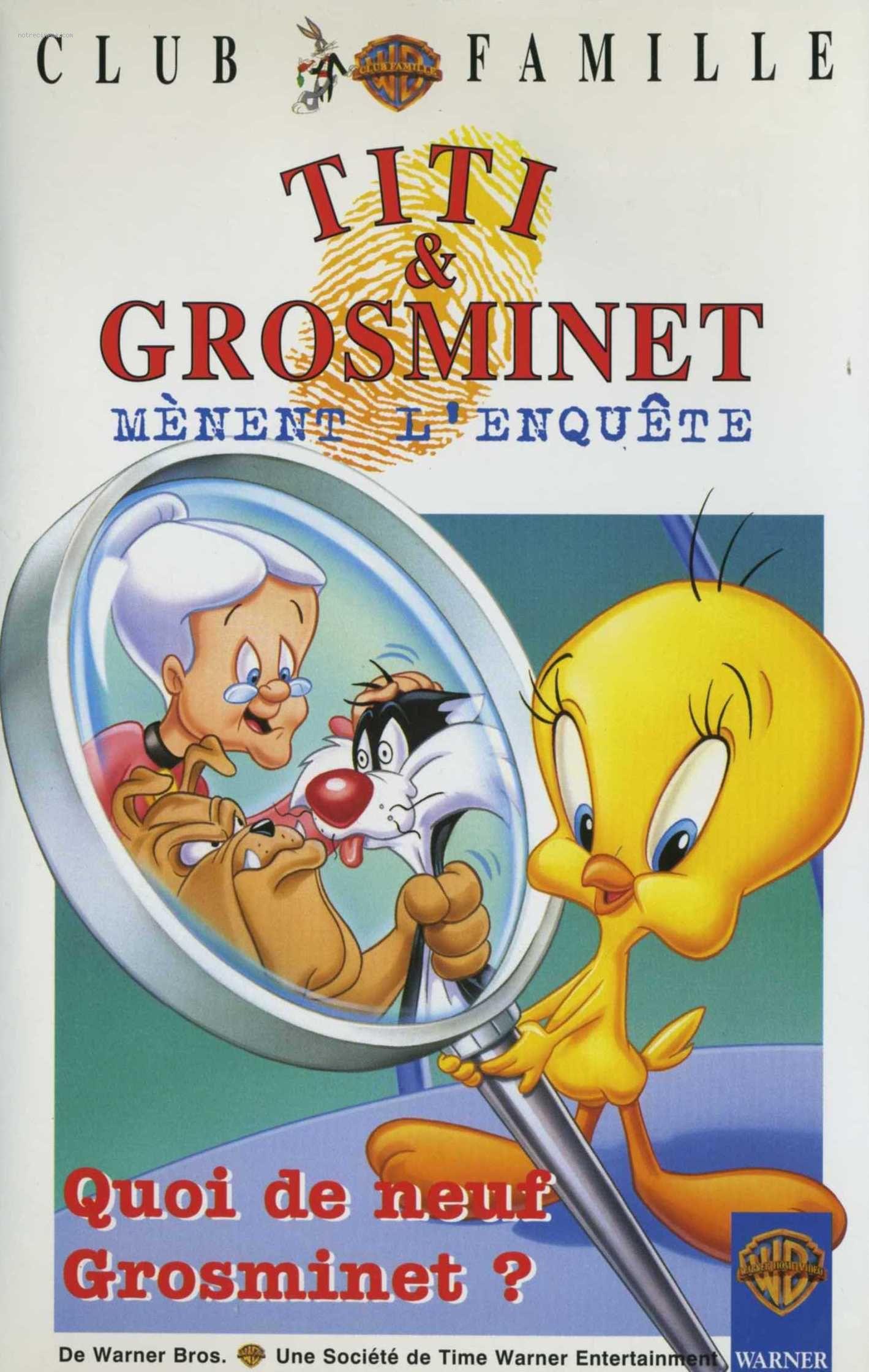Titi Et Grosminet Mènent Lenquête Dessin Animé 1995