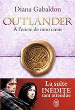 Couverture A l'encre de mon coeur - Outlander, tome 8