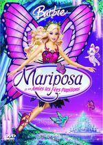 Affiche Barbie Mariposa et ses amies les fées-papillons