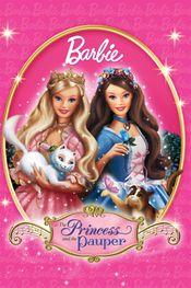 Affiche Barbie, cœur de princesse