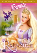 Affiche Barbie, princesse Raiponce