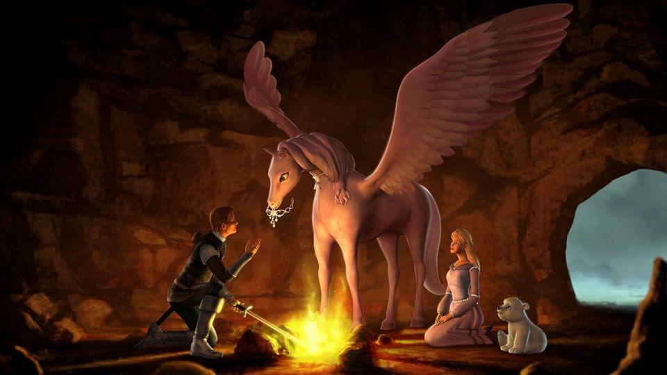 Affiches posters et images de barbie et le cheval magique 2005 - Barbie et le cheval ...