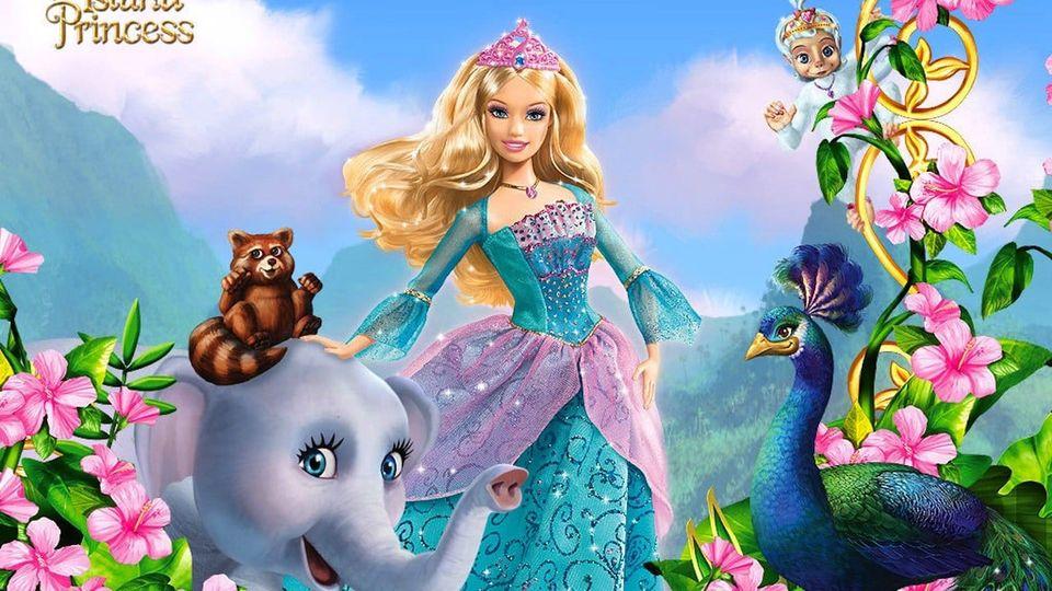 Affiches posters et images de barbie princesse de l 39 le - Barbie et l ile merveilleuse ...