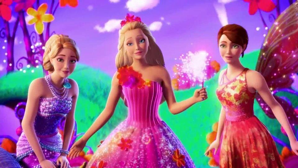 Affiches posters et images de barbie et la porte secr te - Barbie et la porte secrete film complet ...