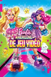 Affiche Barbie : Héroïne de jeu vidéo