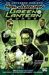 Couverture Hal Jordan and the Green Lantern Corps (Rebirth) Vol. 3: Quest for Hope