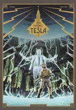 Couverture La Conjuration des humains véritables - Les Trois Fantômes de Tesla, tome 2