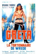 Affiche Greta, la Tortionnaire de Wrede