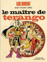 Couverture Le Maître de Terango - Luc Orient, tome 3