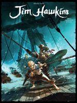 Couverture Sombres héros de la mer - Jim Hawkins, tome 2