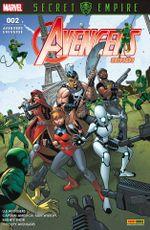 Couverture Reveille le Kraken, dechaine l'enfer - Avengers Universe (2ème série), tome 2