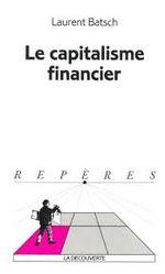 Couverture Le capitalisme financier