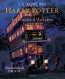 Couverture Harry Potter et le prisonnier d'Azkaban (illustré par Jim Kay)