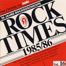 Pochette Rock Times, Volume 16: 1985-1986
