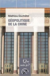 Couverture Géopolitique de la Chine