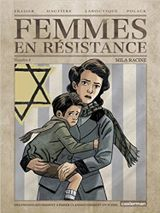 Couverture Mila Racine - Femmes en résistance, tome 4